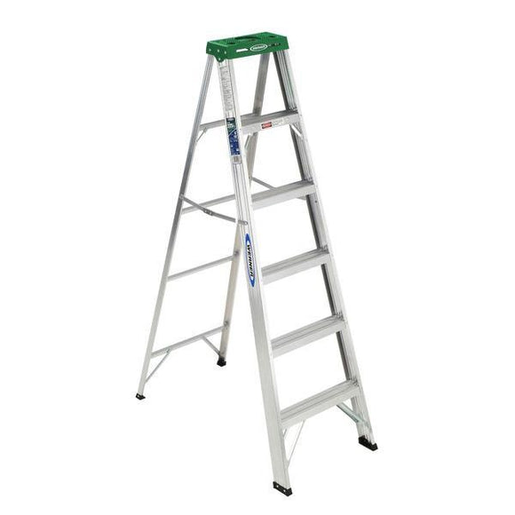 Werner 6 ft Type II Aluminum Step Ladder