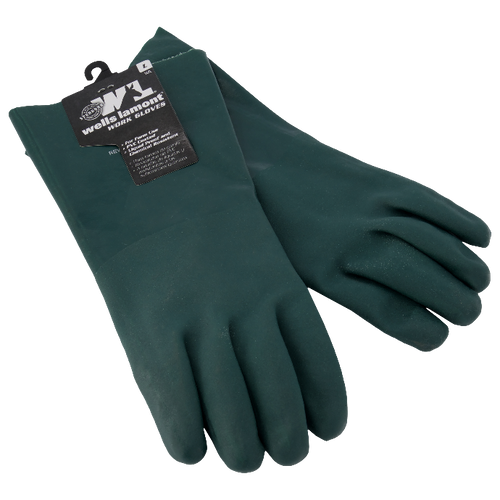 Acid resistant gloves (green)