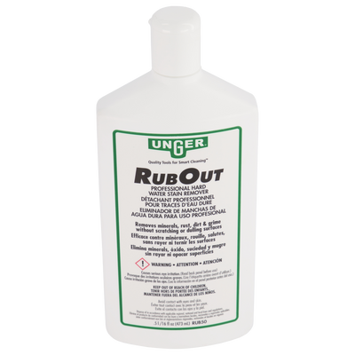 unger rub out water stain remover