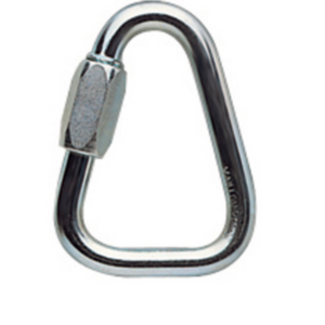 Petzl DELTA 8mm screw link steel w/ plastic captive bar