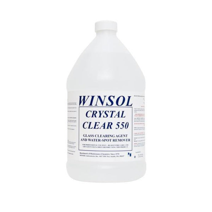Winsol Crystal Clear 550 1 gl 1 gallon window cleaning depot window cleaner
