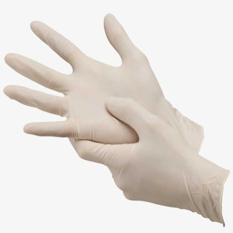 Disposable Vinyl Gloves (100 units)