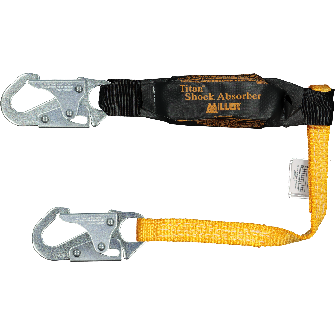 miller shock absorbing lanyard 3ft