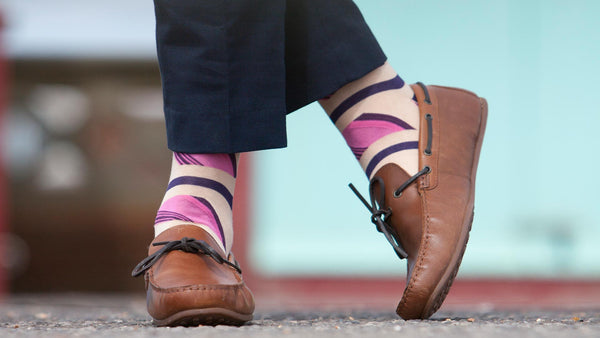 Remember the 'rule' about matching socks to trousers?