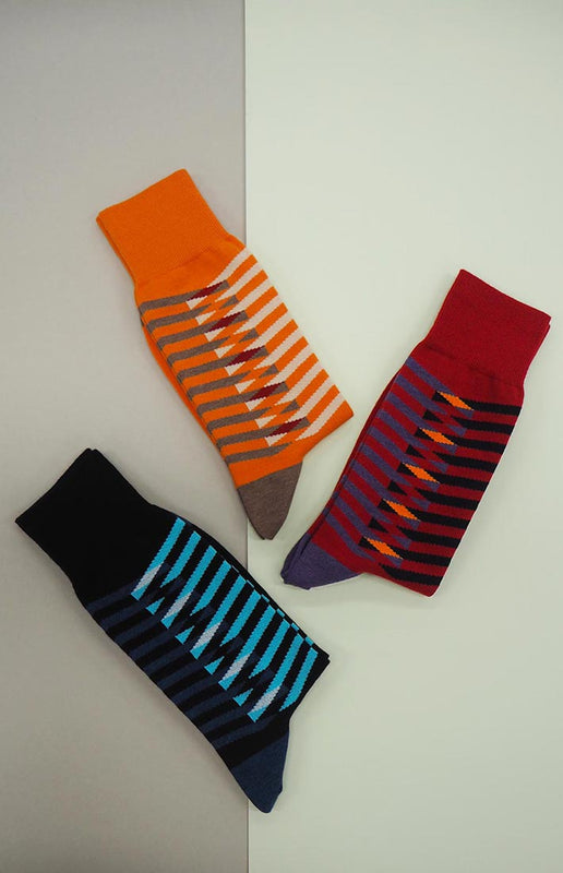 Peper Harow Organic Symmetry Luxury Socks