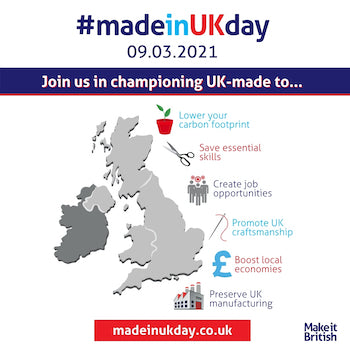 Made In UK Day 9 March 2021