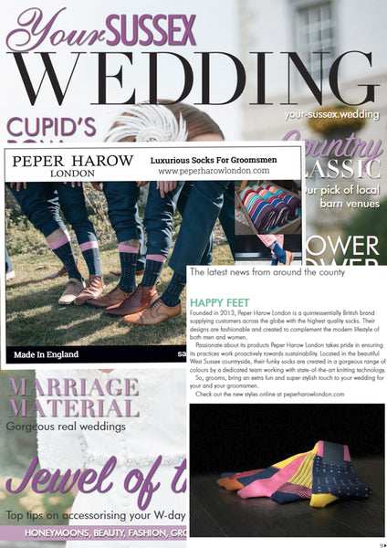 Sussex Wedding Magazine & Peper Harow London