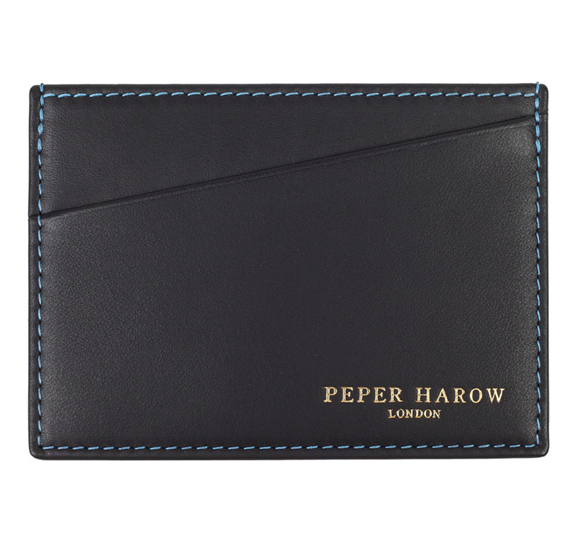 3 Card Wallet Black