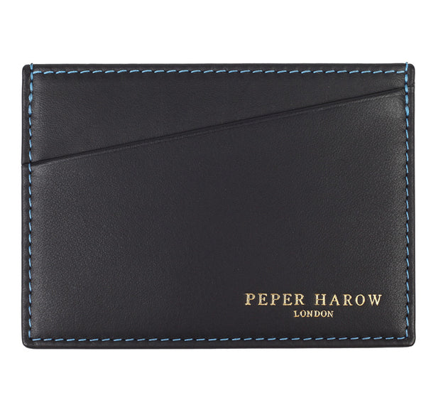 Black 3 card men's wallet