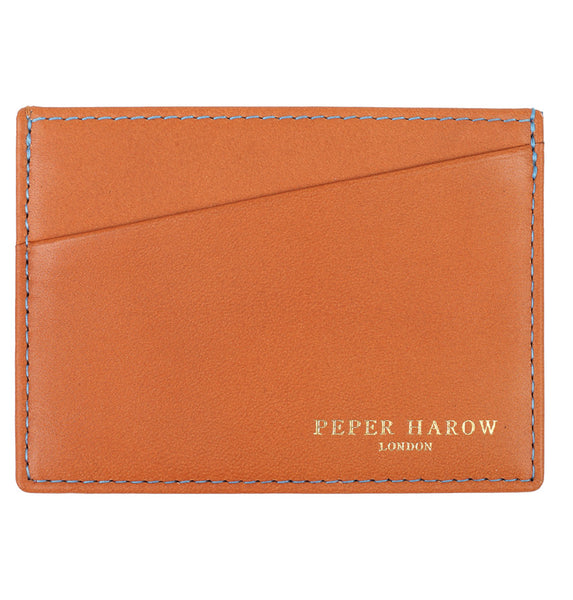 3 Card Wallet Tan