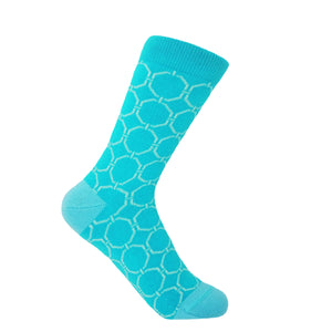 Beehive Women's Socks - Aqua