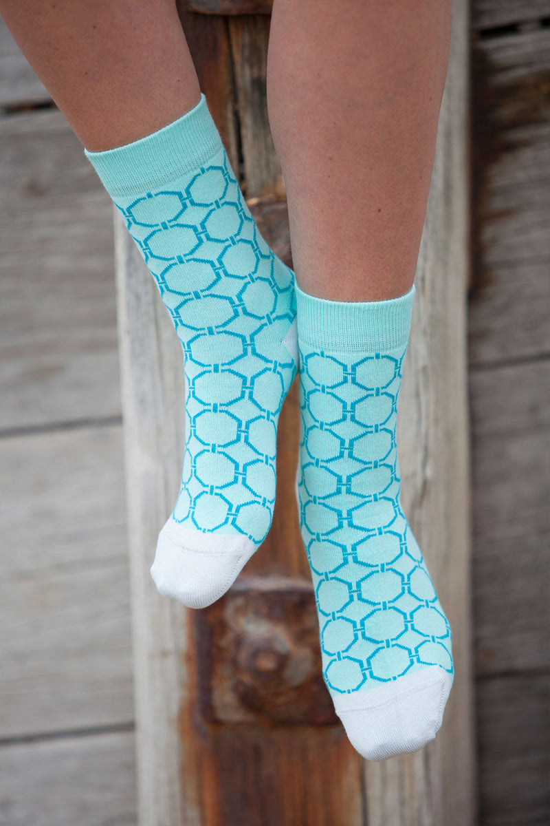Beehive Women's Socks - Mint
