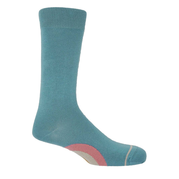 Big Target Blue Men's Luxury Socks