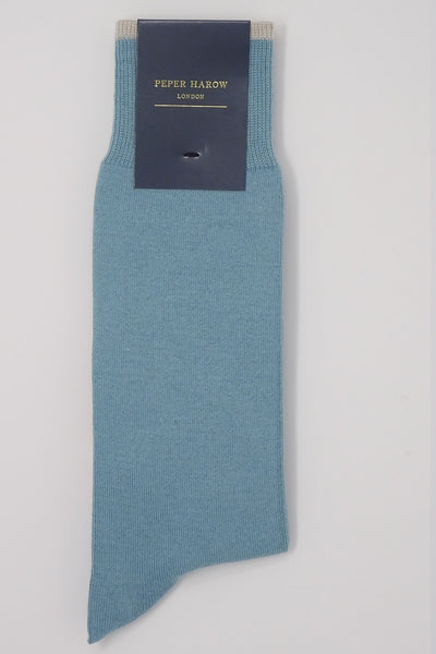 Big Target Blue Men's Socks