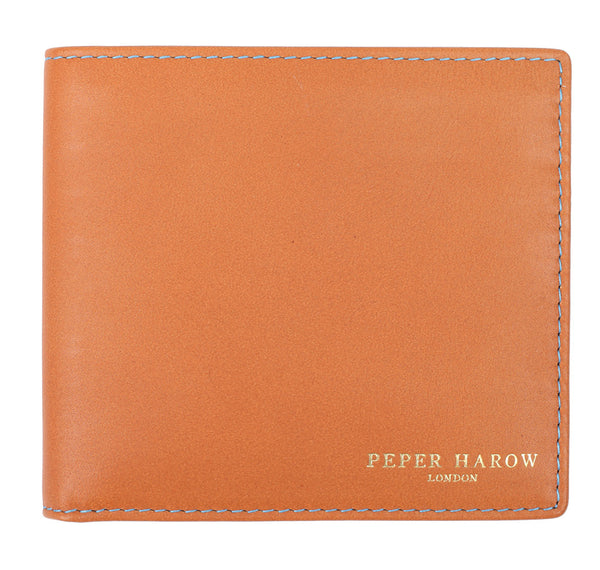 Tan Men's Leather Billfold Wallet