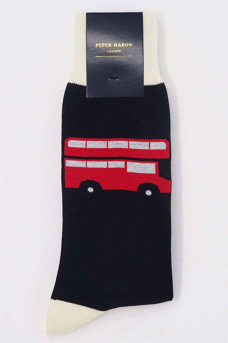 London Bus Men's Socks - Black