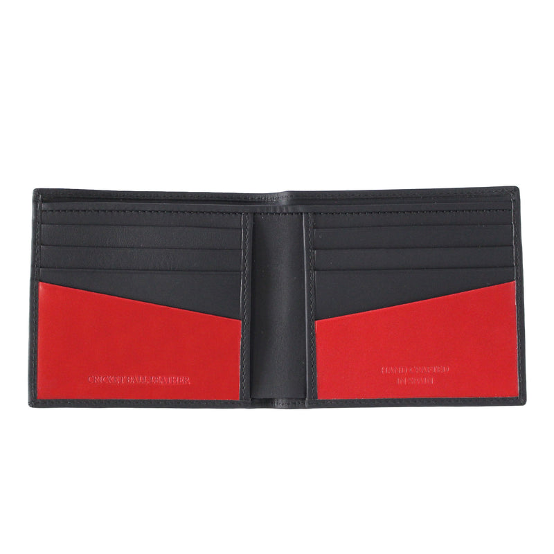 Black Billfold Men's Leather Wallet