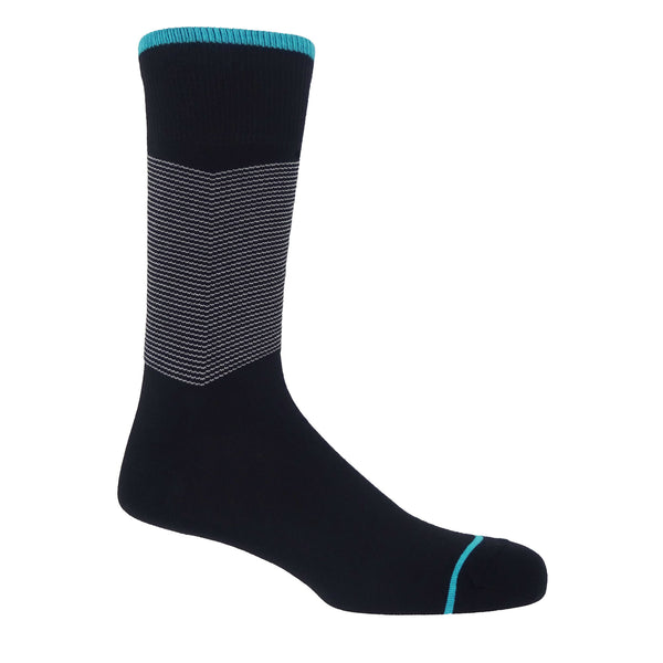 Chevron Men's Socks - Black