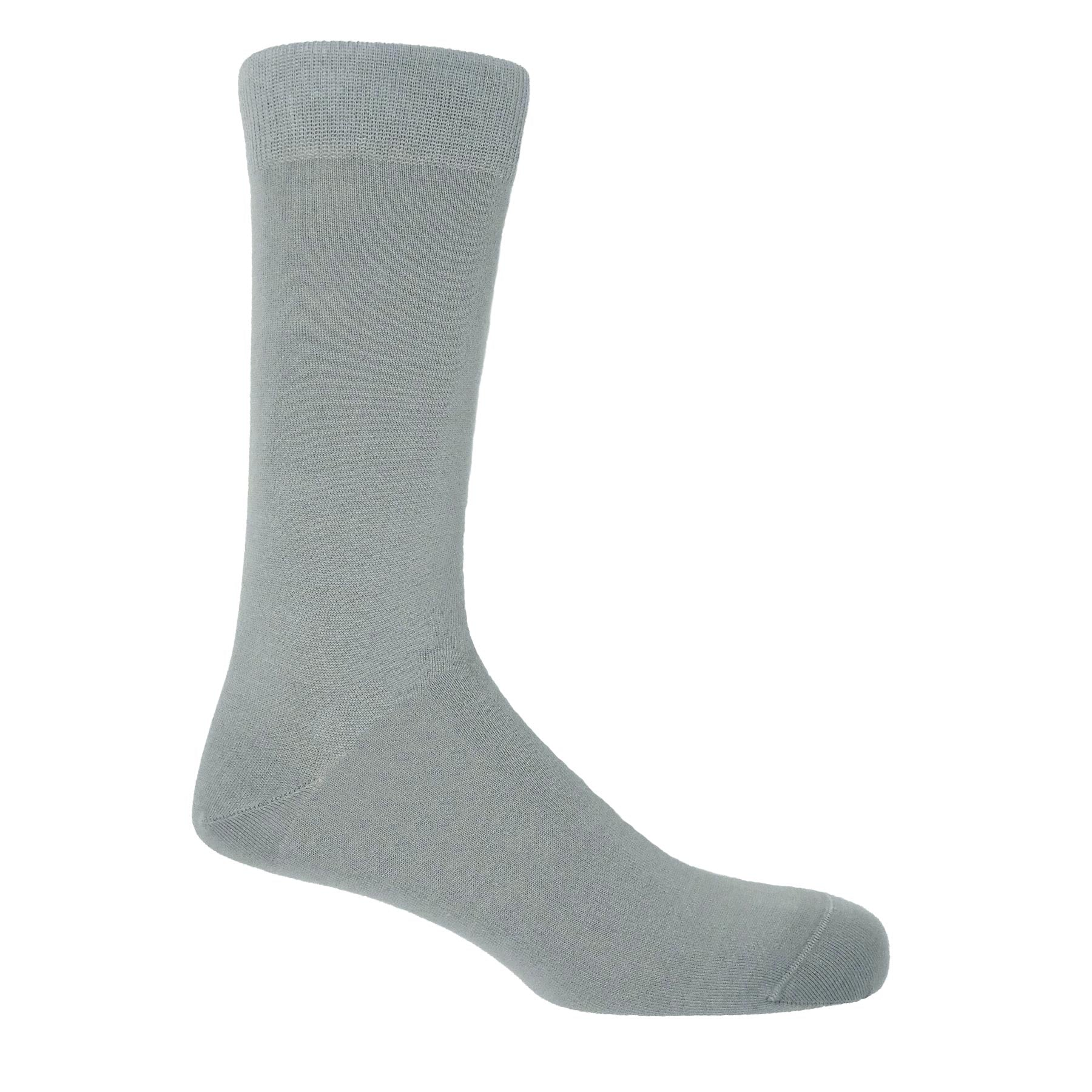 Classic Men's Socks Light Grey