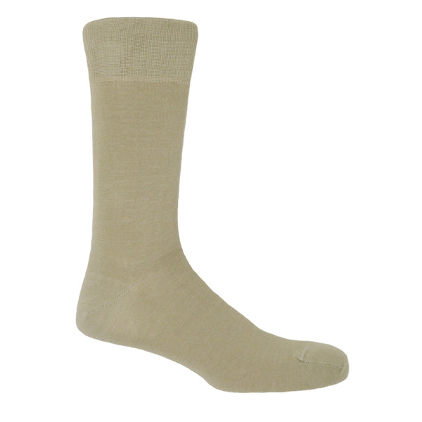Beige Classic Men's Luxury Socks