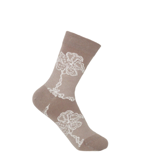 Delicate Women's Socks - Mink