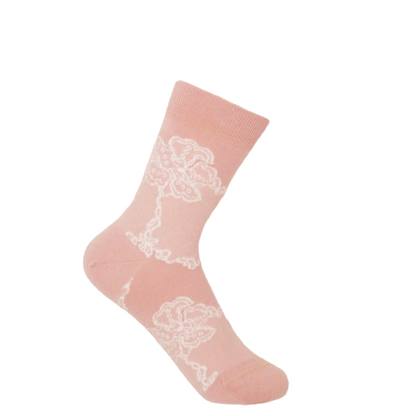 Delicate Women's Socks - Pink