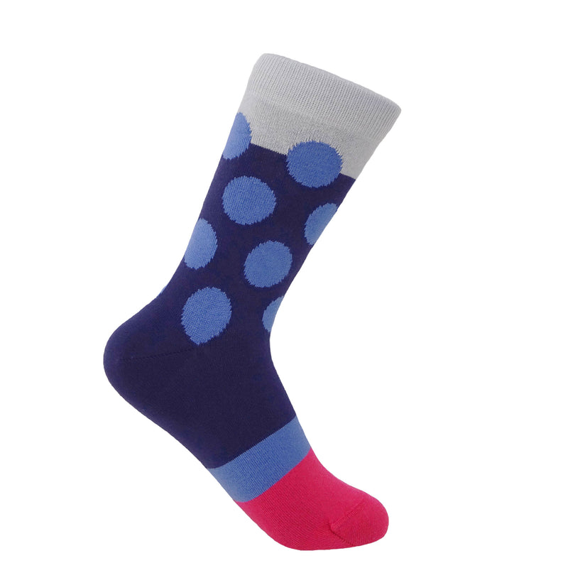 Eleanor Women's Socks - Navy