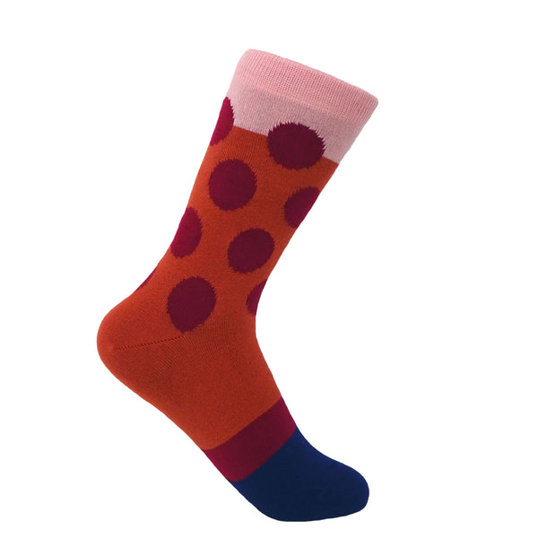 Eleanor Women's Socks - Terracotta