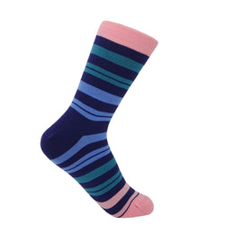 Elizabeth Women's Socks - Blueberry