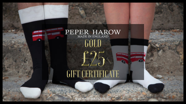 Peper Harow £25 Gift Card Gold