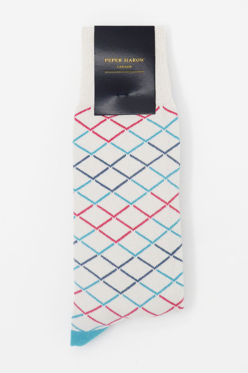 Hastings Gauntlet luxury men's socks