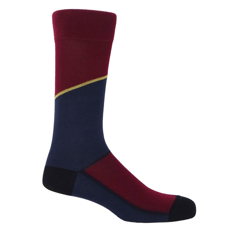 Hilltop Men's Socks - Navy