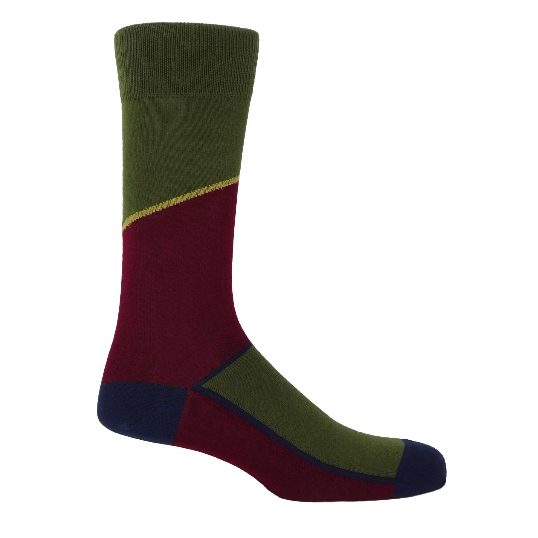 Hilltop Men's Socks - Juniper