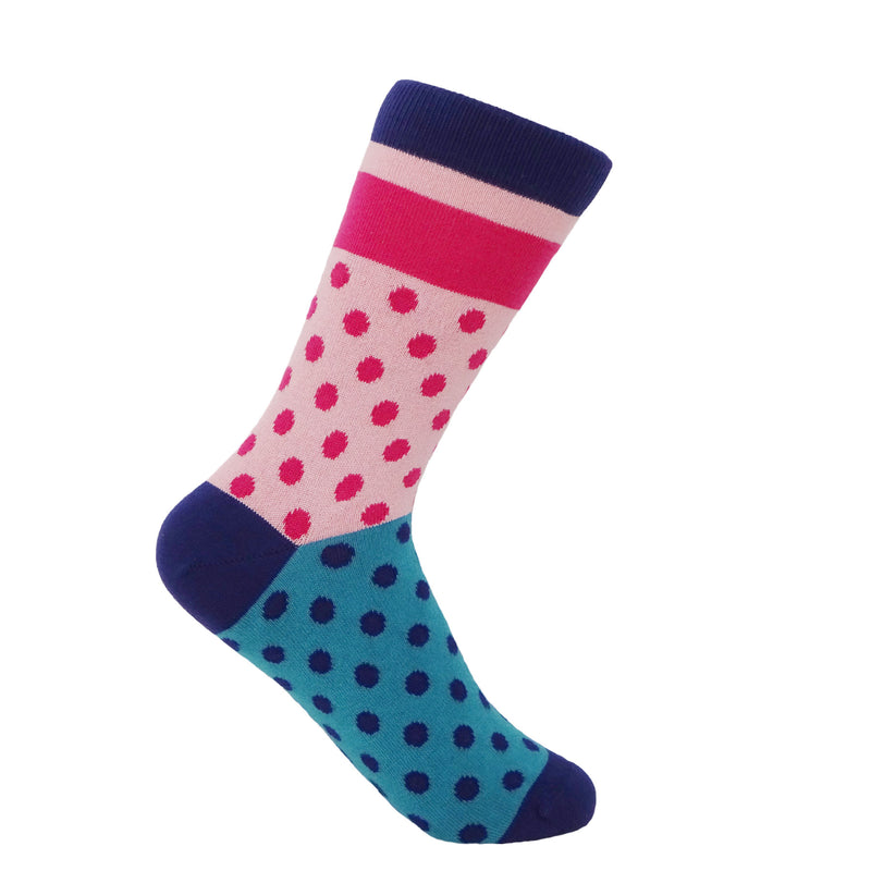Katherine Women's Socks - Bubblegum
