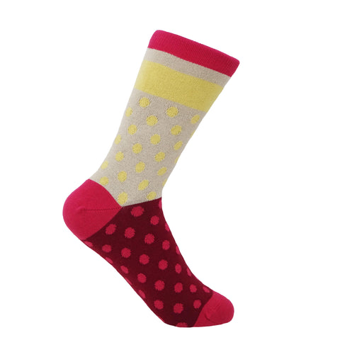 Katherine Women's Socks - Wine