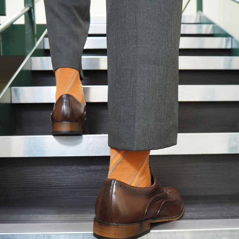 Bronze kensington men's luxury socks