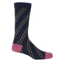 Kensington Men's Socks - Navy