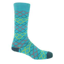 Hastings Men's Socks - Blue