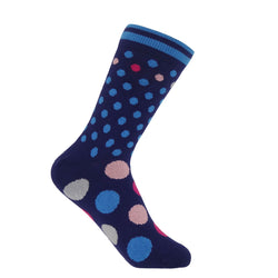 Mary Women's Socks - Navy