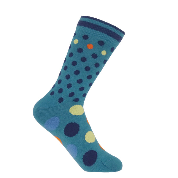 Mary Women's Socks - Peacock