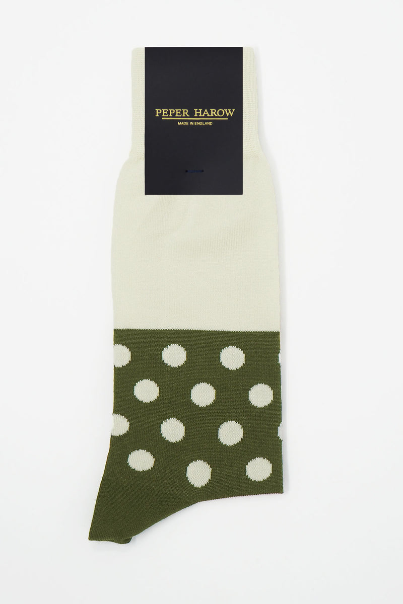 Mayfair Men's Socks - Cream