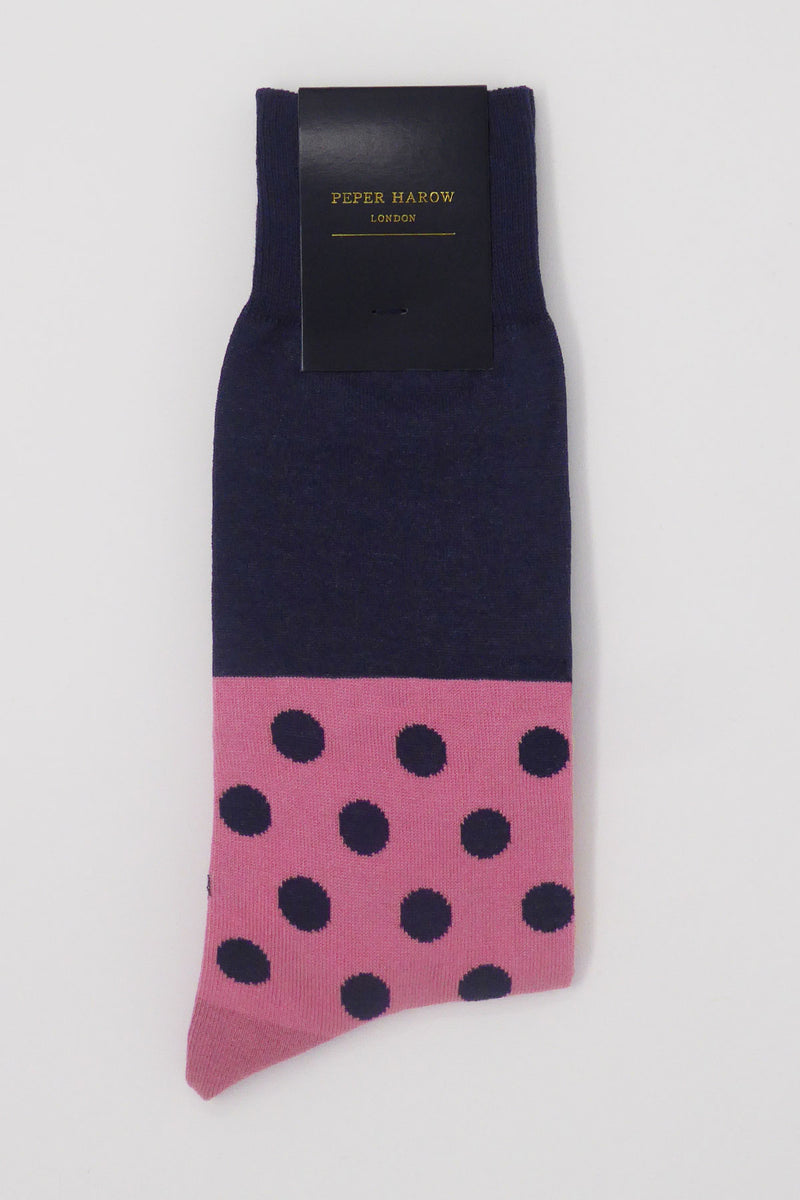 Mayfair Men's Socks - Navy