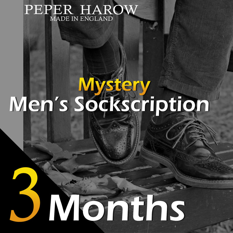 3 Month Men's Mystery Sockscription