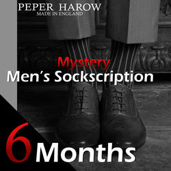 6 Month Men's Mystery Sockscription