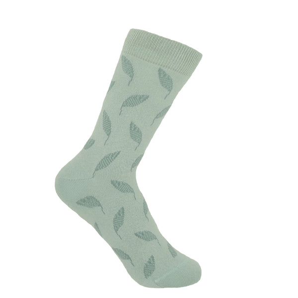 Mint Leaf Women's Luxury Socks