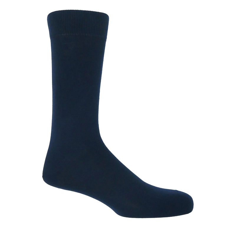 Navy Classic Men's Luxury Socks