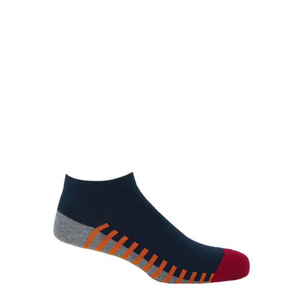 Welford Men's Trainer Socks - Navy