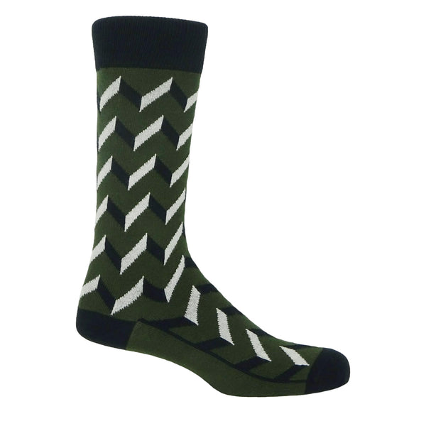 Optical Men's Socks - Earth