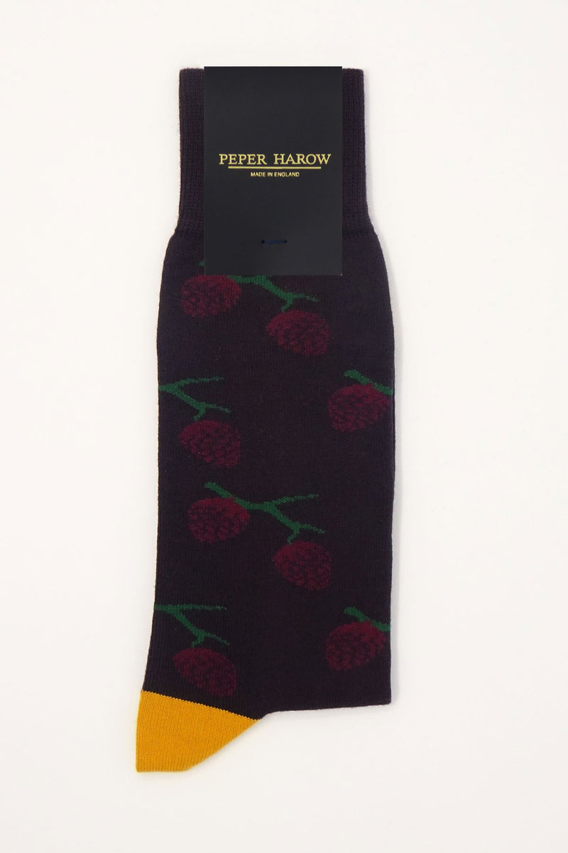 Pine Wine Men's Luxury Socks