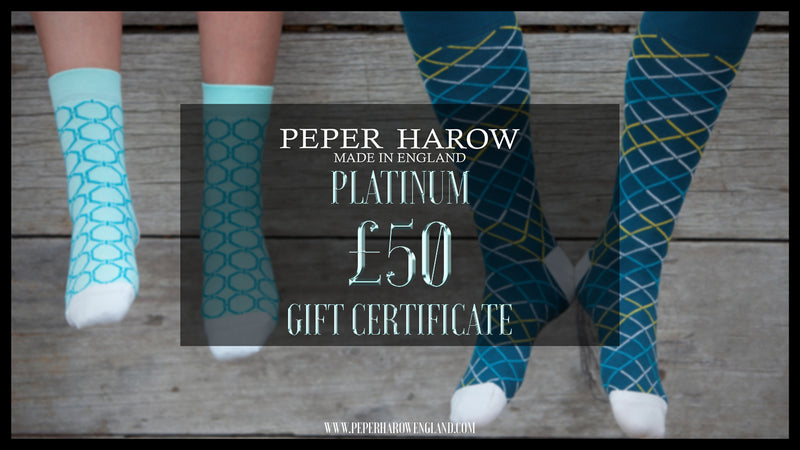 Peper Harow Platinum £50 Gift Card